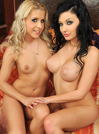 lezbohoneys Aletta Ocean and Brandy Smile Aletta and Brandy's lez adventures img