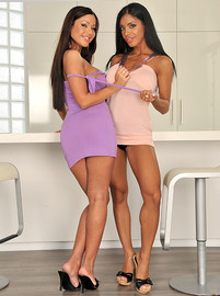 kyra black & angelica heart